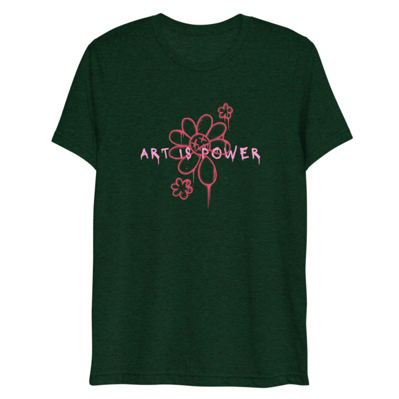 T-shirt Art is Power Créer Son T Shirt