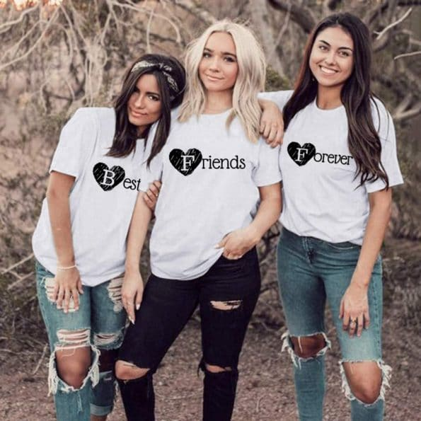 T-shirt-Best-Friends-Forever-BFF-