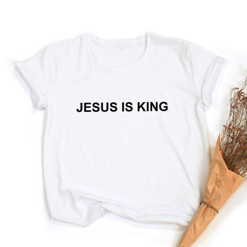 T-shirt Jésus is King - Femme Créer Son T Shirt