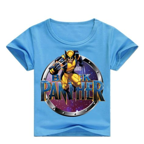 t-shirt marvel black panther