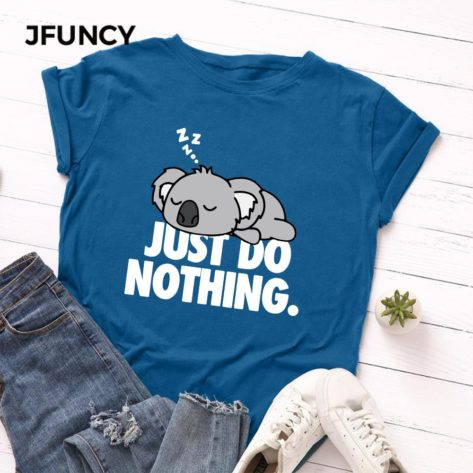 T-shirt Koala Just Do Nothing Créer Son T Shirt