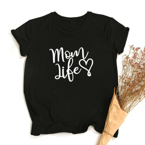 T-shirt Mom Life Créer Son T Shirt