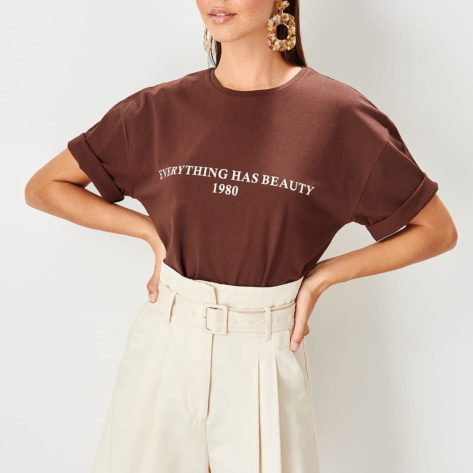 T-shirt Everything has beauty Créer Son T Shirt
