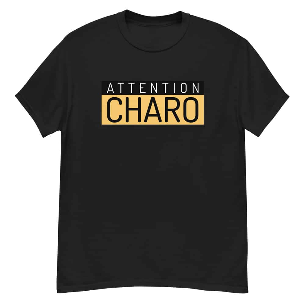 T-shirt Charo Attention