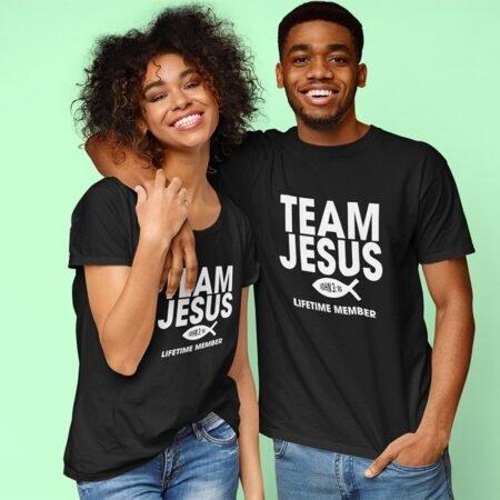 T-shirt Team Jésus