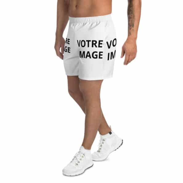 all over print mens athletic long shorts white left 60f94c972ce9c