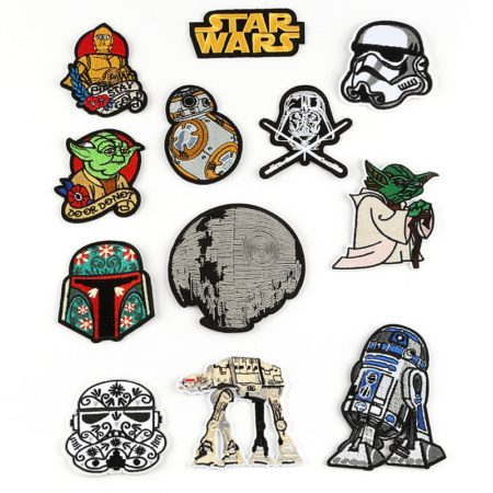 Patch Thermocollant Star Wars – Lot de 12