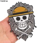 patch brode one piece luffy thermocollant x 3