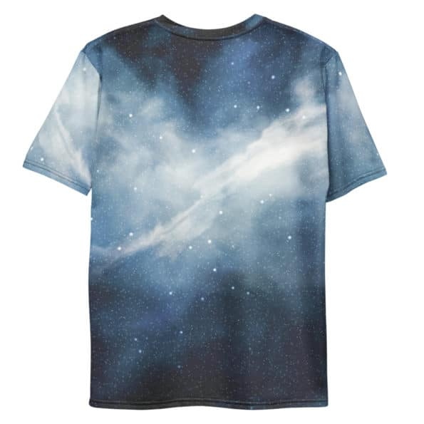 T-shirt Nébuleuse Galaxie Bleue All Over personnalisable