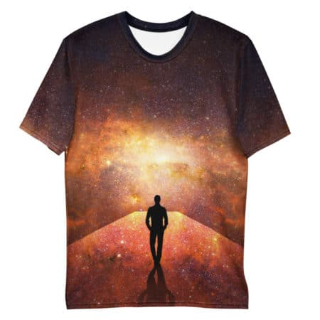 T-shirt Homme Galaxie All Over personnalisable