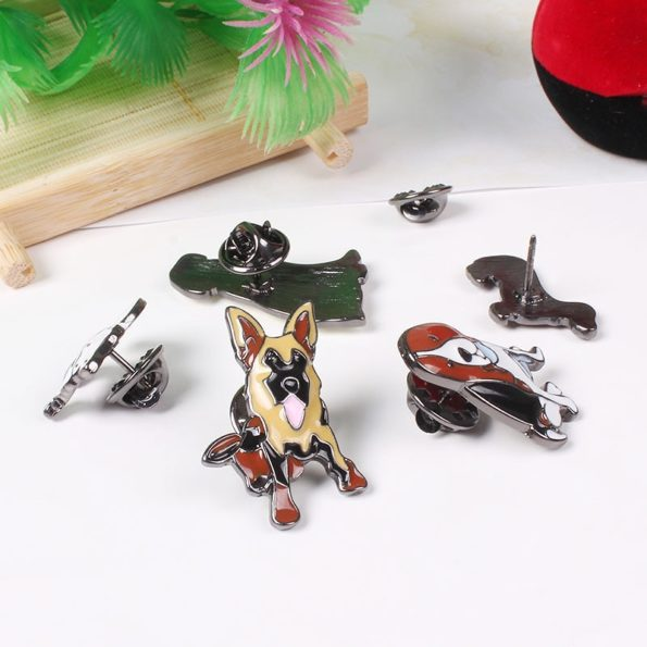 pin chiens pack de 10 pins 2