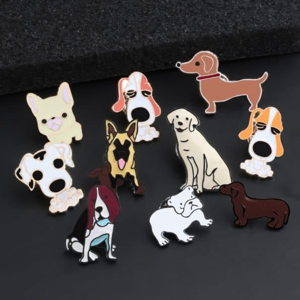 pin chiens pack de 10 pins 3