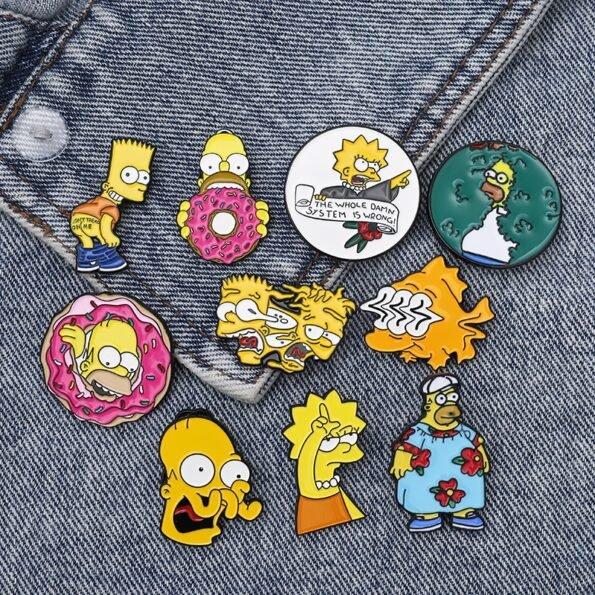 Pin's Simpsons – Pack de 13 pins