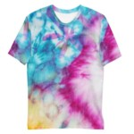 T-shirt Tie and Dye Papillon All Over personnalisable