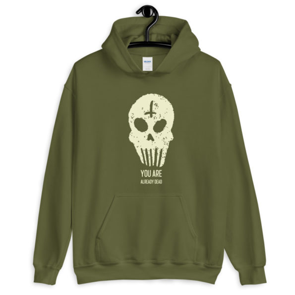 unisex heavy blend hoodie military green front 6155f37e211ca