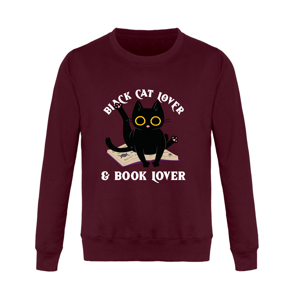 sweat chat noir book lover