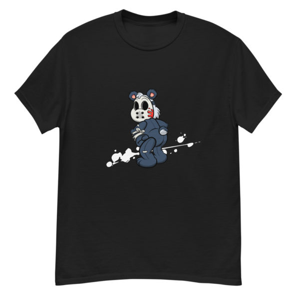 t shirt ourson masque halloween homme