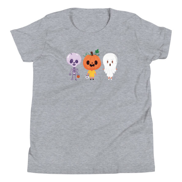 youth staple tee athletic heather front 6156e1147e22f