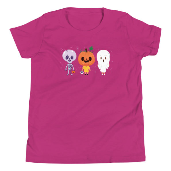 youth staple tee berry front 6156e1147de96