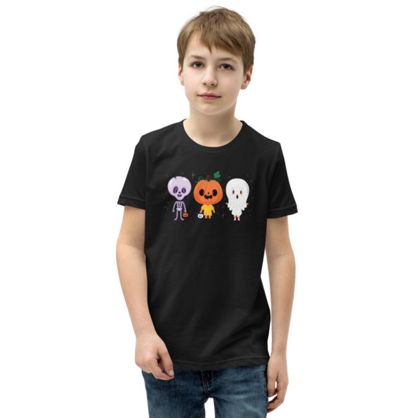 youth staple tee black front 6156e1147d044