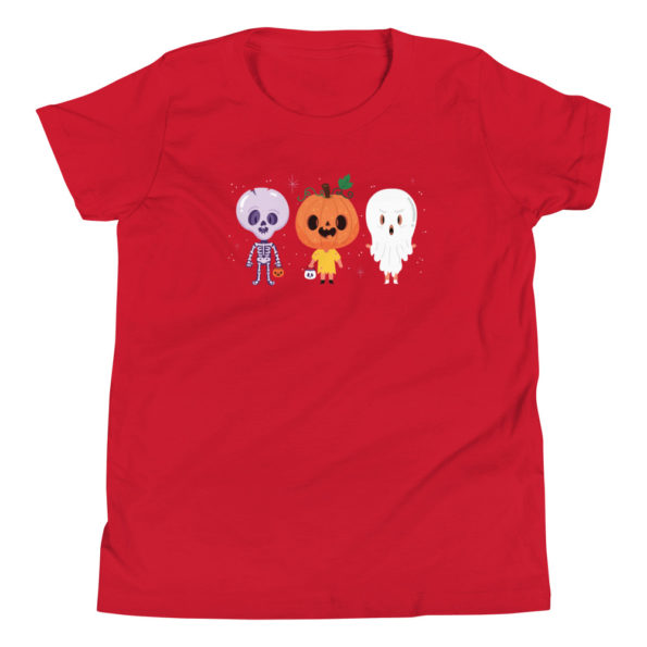 youth staple tee red front 6156e1147d49d