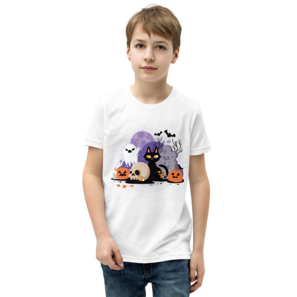 youth staple tee white front 6159c46f46237